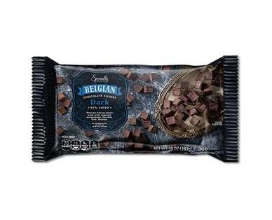 Specially Selected Belgian Dark Chocolate Chunks