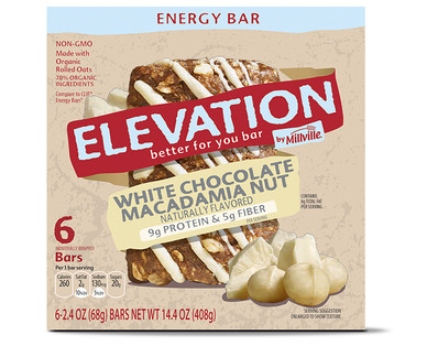 White Chocolate Macadamia Nut Energy Bars