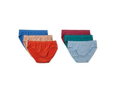 Serra Ladies' 6-Pack Seamless Underwear View 1