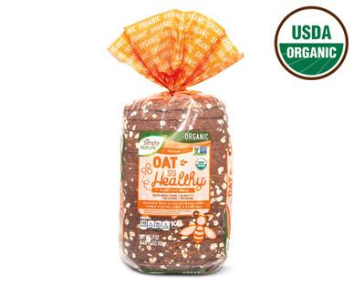 Simply Nature Oat So Healthy® Honey Oat Bread