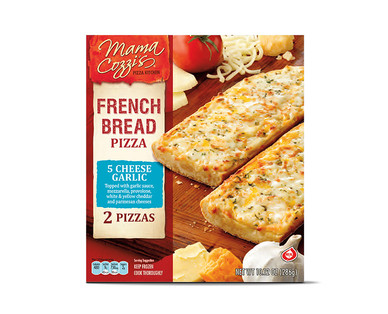 Mama Cozzi's Pizza Kitchen Three Meat or Five Cheese & Garlic French Bread Pizza View 2