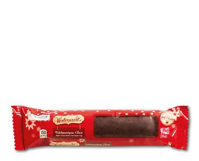 Winternacht Dark Chocolate Praline Marzipan Log