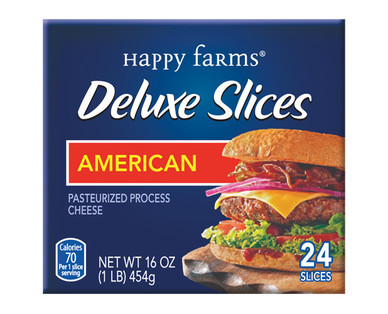 Happy Farms Deluxe American Cheese Slices