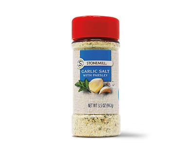 Stonemill Garlic Salt With Parsley