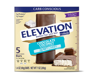 Elevation Chocolate Coconut Engulgent Bars