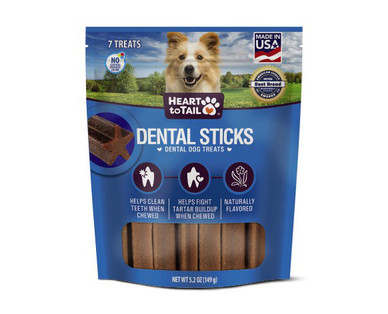 Heart to Tail Dental Sticks