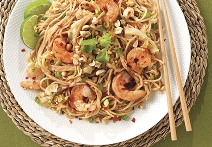 Pad Thai Style Pasta