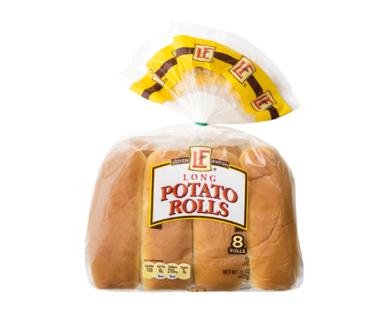 L'oven Fresh Potato Long Rolls