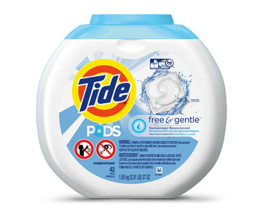 Tide Free and Gentle Pods