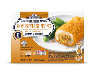Kirkwood Buffalo or Homestyle Stuffing Chicken Entrees View 2