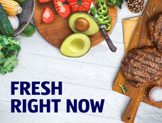 Fresh right now. Browse selection.