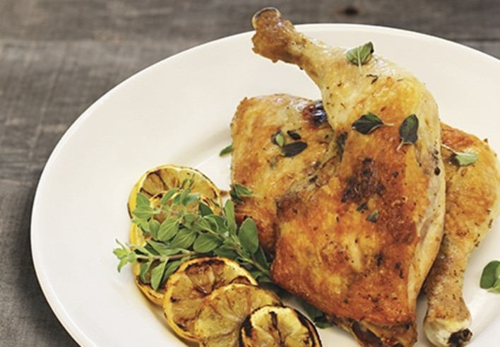 Roasted Mediterranean Chicken