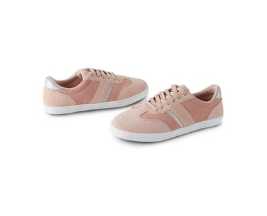 Serra Ladies Suede Sneakers View 3