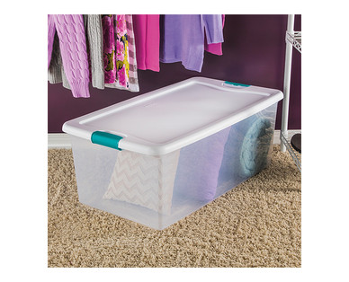 Easy Home 106-Quart Latching Box View 2