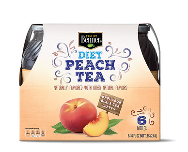 Benner Diet Peach Tea 6 Pack