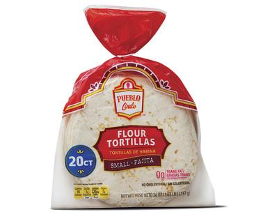 Pueblo Lindo Fajita Flour Tortillas