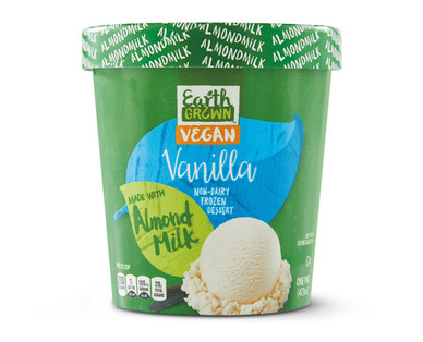 Earth Grown Non-Dairy Vanilla Almond Based Pint