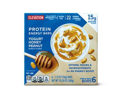 Elevation by Millville Yogurt Honey Peanut Protein Energy Bars