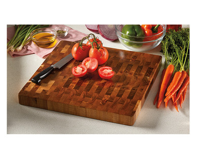 Crofton Chef's Collection Acacia Chopping Block View 4
