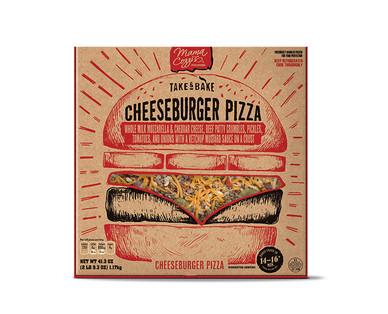 Mama Cozzi's Cheeseburger Deli Pizza