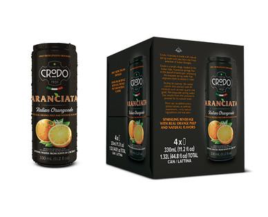 Crodo Italian Soda 4 pk Lemon or Orange View 1