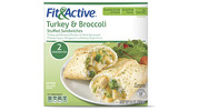 Fit & Active® Turkey & Broccoli Stuffed Sandwiches