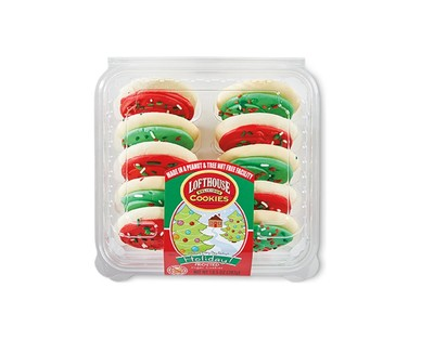 Lofthouse Holiday Frosted Sugar Cookies View 1
