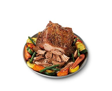 Fresh Whole Boneless Pork Butt Roast View 1