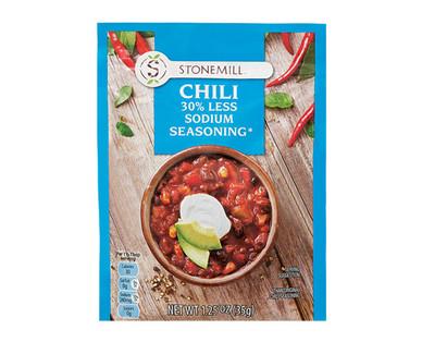Stonemill Reduced Sodium Chili Mix