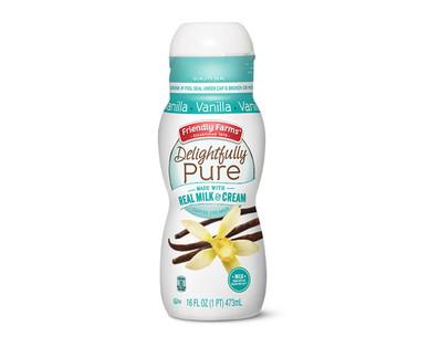 Friendly Farms Delightfully Pure Vanilla Creamer