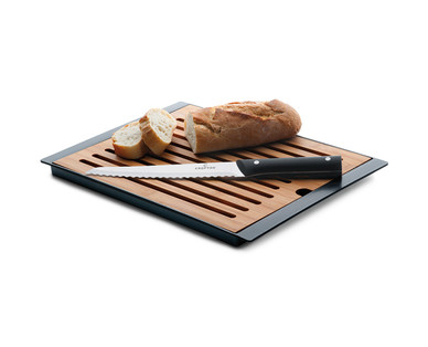 Crofton Cutting Board and Bread Knife Set View 1