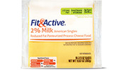 Fit & Active® 2% Milk American Singles