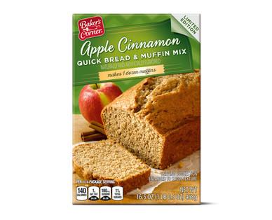 Baker's Corner Apple Cinnamon Quick Bread & Muffin Mix