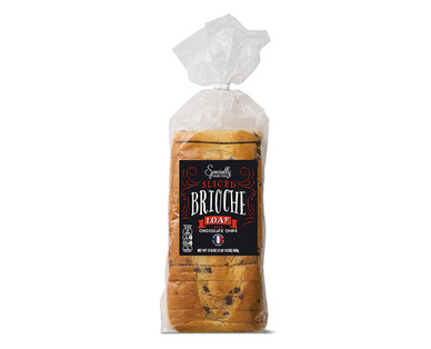 Specially Selected Chocolate Chip Sliced Brioche Loaf