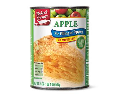 Baker's Corner  Apple Pie Filling