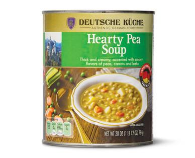 Deutsche Kuche Hearty Pea Soup