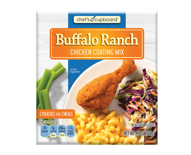 Chef's Cupboard Buffalo Ranch Chicken Coating Mix