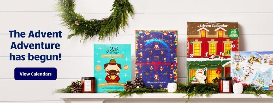 The Advent Adventure has begun! View Calendars.