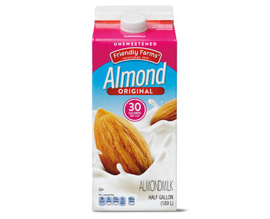 Friendly Farms Unsweetened Original Almondmilk