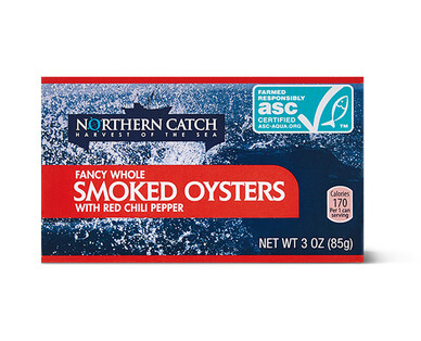 Northern Catch Oysters with Red Chili Pepper