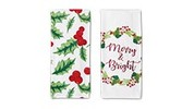 Merry Moments 2-Piece Holiday Towel Set
