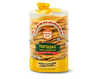 Pueblo Lindo Casera Style Tostadas
