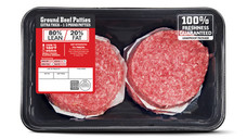 80 Percent Lean Ground Beef Patties. View Details.
