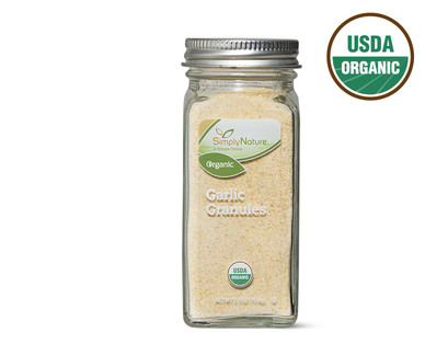 SimplyNature Organic Ground Garlic Granules