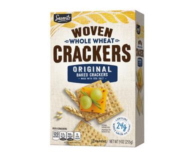 Savoritz Woven Whole Wheat Crackers