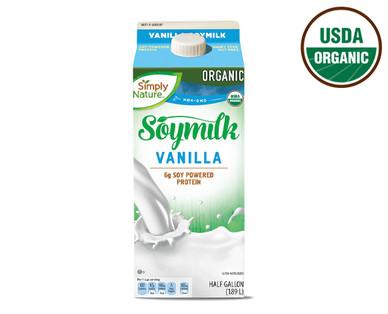 Simply Nature Organic Vanilla Soymilk