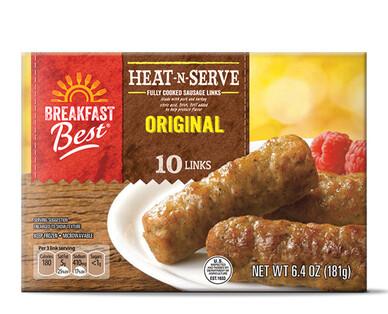 Breakfast Best Heat N' Serve Sausage Links