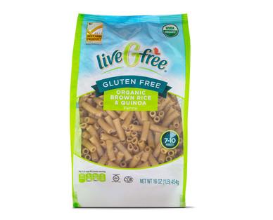 liveGfree Organic Gluten Free Brown Rice & Quinoa Penne