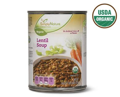 SimplyNature Organic Lentil Soup
