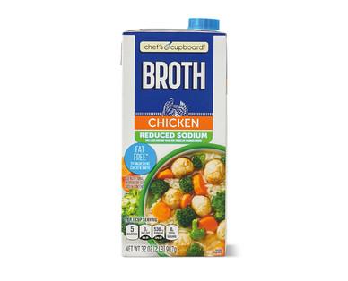 Chef's Cupboard Reduced Sodium Chicken Broth
